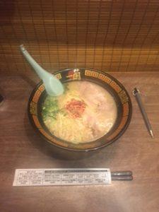 豚骨ラーメンを上野で出したい