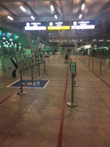 バンコクスワンナプーム空港のタクシー乗り場