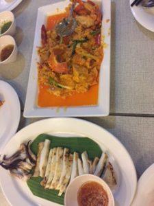 ソンブーンで蟹カレー