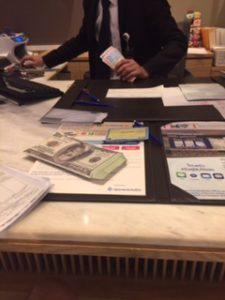 バンコク銀行で入金