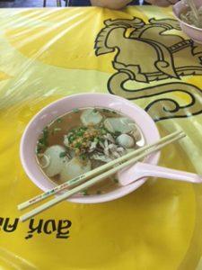 タイのラーメンは美味しいです。パクチーが入ってない