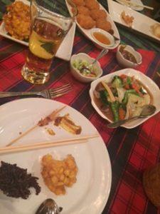 2日連続のタイ料理