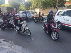 ベトナムのバイクがすごい