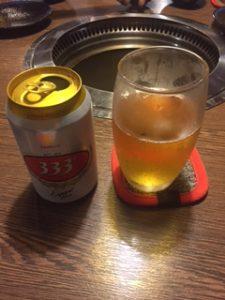 ベトナムビールの333