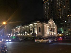 ホーチミンシティのオペラハウス
