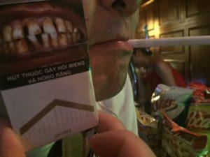 ベトナムのタバコの害