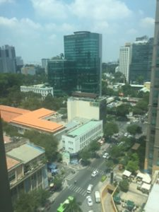 インターコンチネンタルホテルサイゴンからの眺め