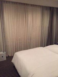 ハイアットリージェンシー箱根の寝室
