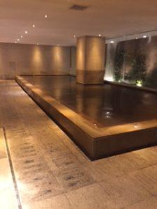 箱根のハイアットの温泉