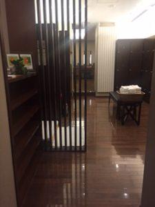 客室内のパウダールーム