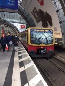 ベリリンの電車であるSバーン