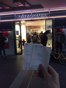 DBのICのチケット