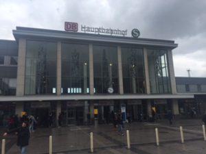 ドルトムント中央駅外観