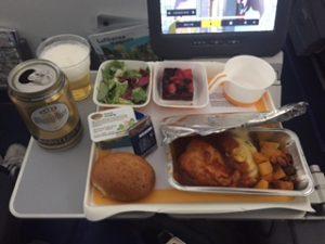 ルフトハンザの機内食