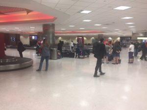 ニューオリンズ空港のBaggage Claim