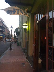 ニューオリンズのディナーのレストラン