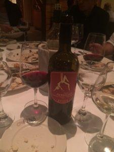 ナパバレーの赤ワイン