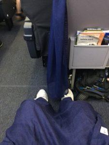 ユナイテッド航空のプレミアムエコノミー