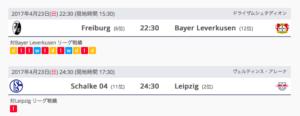 ドイツのサッカーリーグ(ブンデスリーガ)