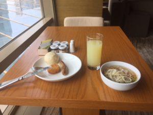 ハイアットオンザバンドの朝食