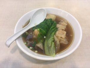 香港のワンタン麺