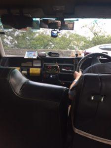 ビクトリア・ピークからのタクシー