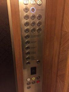 グランドハイアットエラワンのエレベーター
