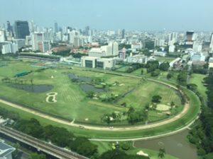 バンコクの競馬場