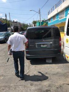 メキシコシティで依頼した送迎車