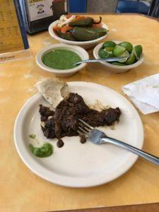 メキシコのタコス