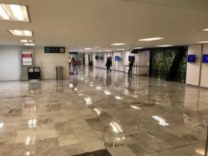 メキシコシティの空港内VIPラウンジが遠い