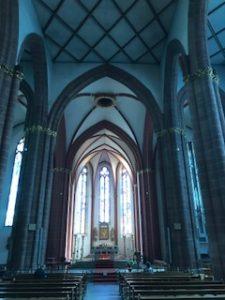 ザンクト・シュテファン教会のステンドグラス