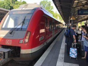 ドイツ鉄道のSバーンの電車