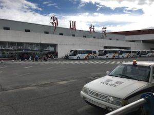 拉薩の空港