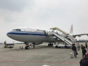 中国国際航空の機体
