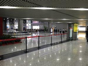 成都空港のバゲッジクレーム