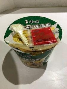 中国のカップ麺