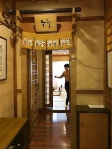 日本風の個室レストラン