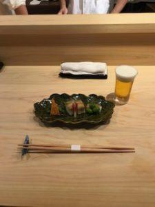 味ひろでの和食