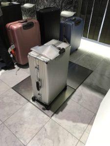 リモワのスーツケースのデビュー