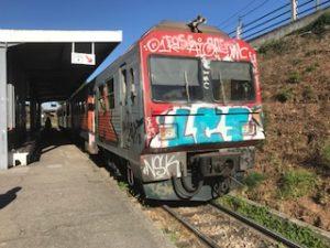 アゲダの電車
