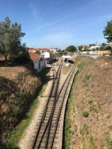アゲダ駅の線路