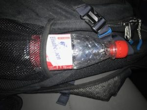 ドイツからのミネラルウォーターのボトル
