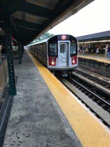 NYの地下鉄