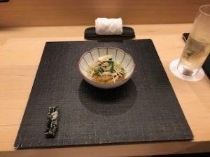 松茸と焼き魚