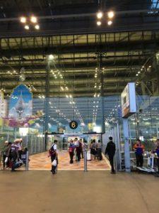 スワンナプーム空港入口