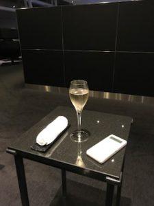 シャンパン注文