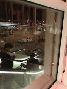 ANAのB8に搭乗前