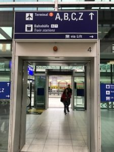 フランクフルト空港入口
