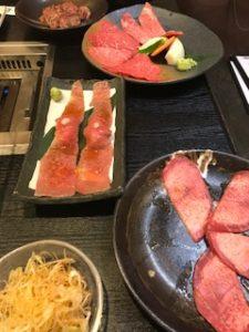 焼肉のもとやまのお肉
